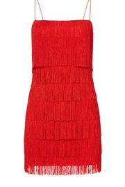LIKELY Alice Red Dress - Back cropped
