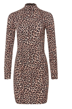 LIKELY Leopard Bali Dress - Product List Image