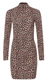LIKELY Leopard Bali Dress - Product Mini Image