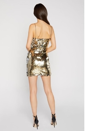 LIKELY Paillette Sequin Dress - Front full body