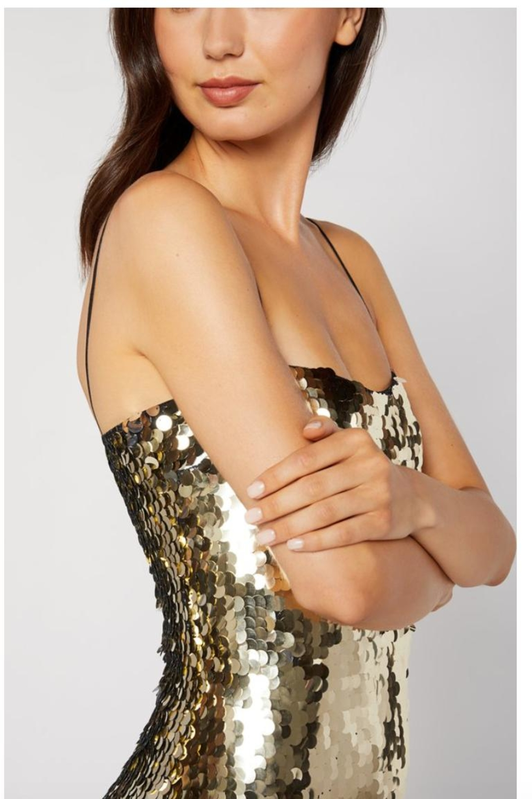 LIKELY Paillette Sequin Dress - Side Cropped Image
