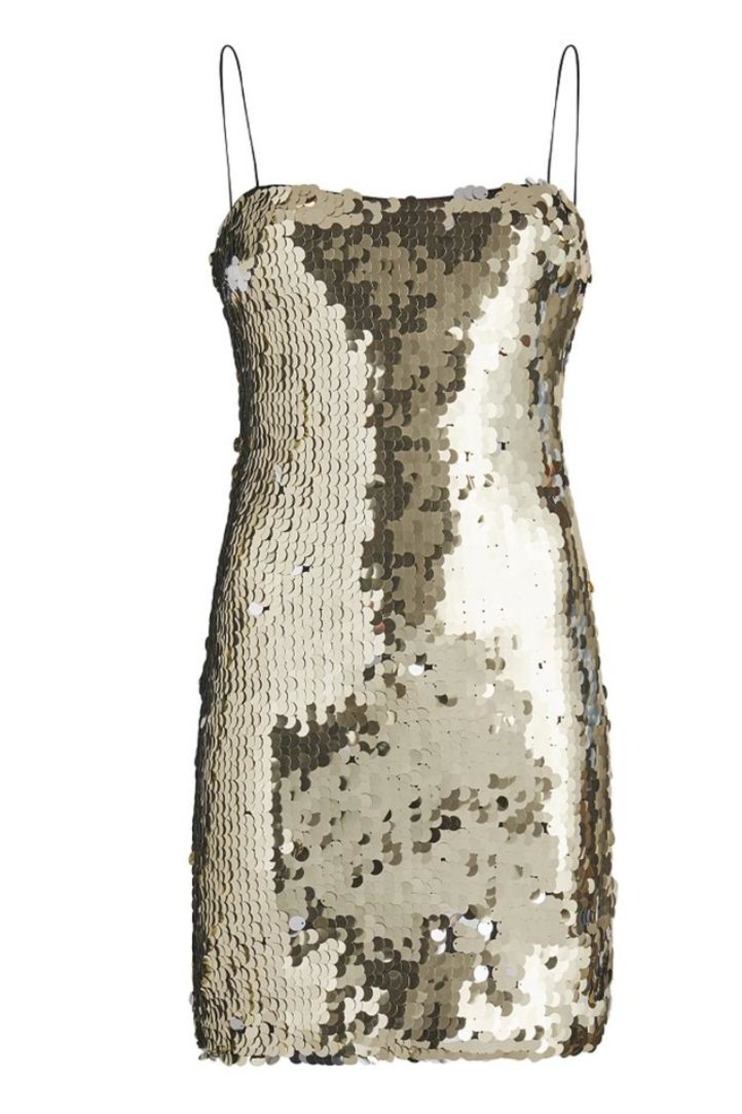 LIKELY Paillette Sequin Dress - Back Cropped Image