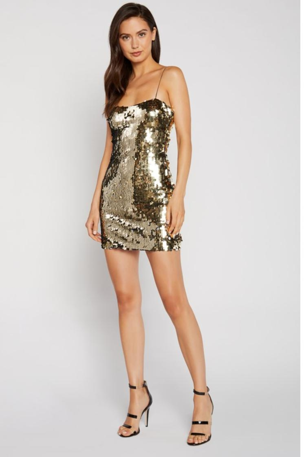 LIKELY Paillette Sequin Dress - Front Cropped Image