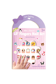 Girl Nation  Lil' Fingers Nail Art- Animal Friends - Product Mini Image