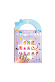 Girl Nation  Lil' Fingers Nail Art - Mermaids & Friends - Front cropped