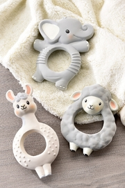 Giftcraft Inc.  Lil' Llama teething ring - Product Mini Image