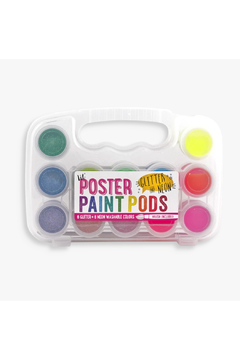Ooly Lil' Poster Paint Pods Glitter And Neon - Product List Image