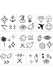 Inked by Dani Lil' Temporary Tattoo Pack - Side cropped