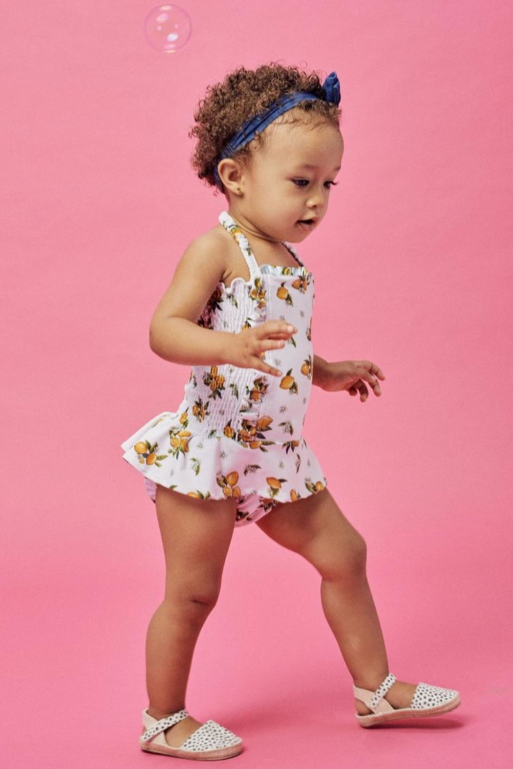 Lil Lemons Sun Kissed Swimsuit - Front Full Image