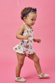 Lil Lemons Sun Kissed Swimsuit - Front full body