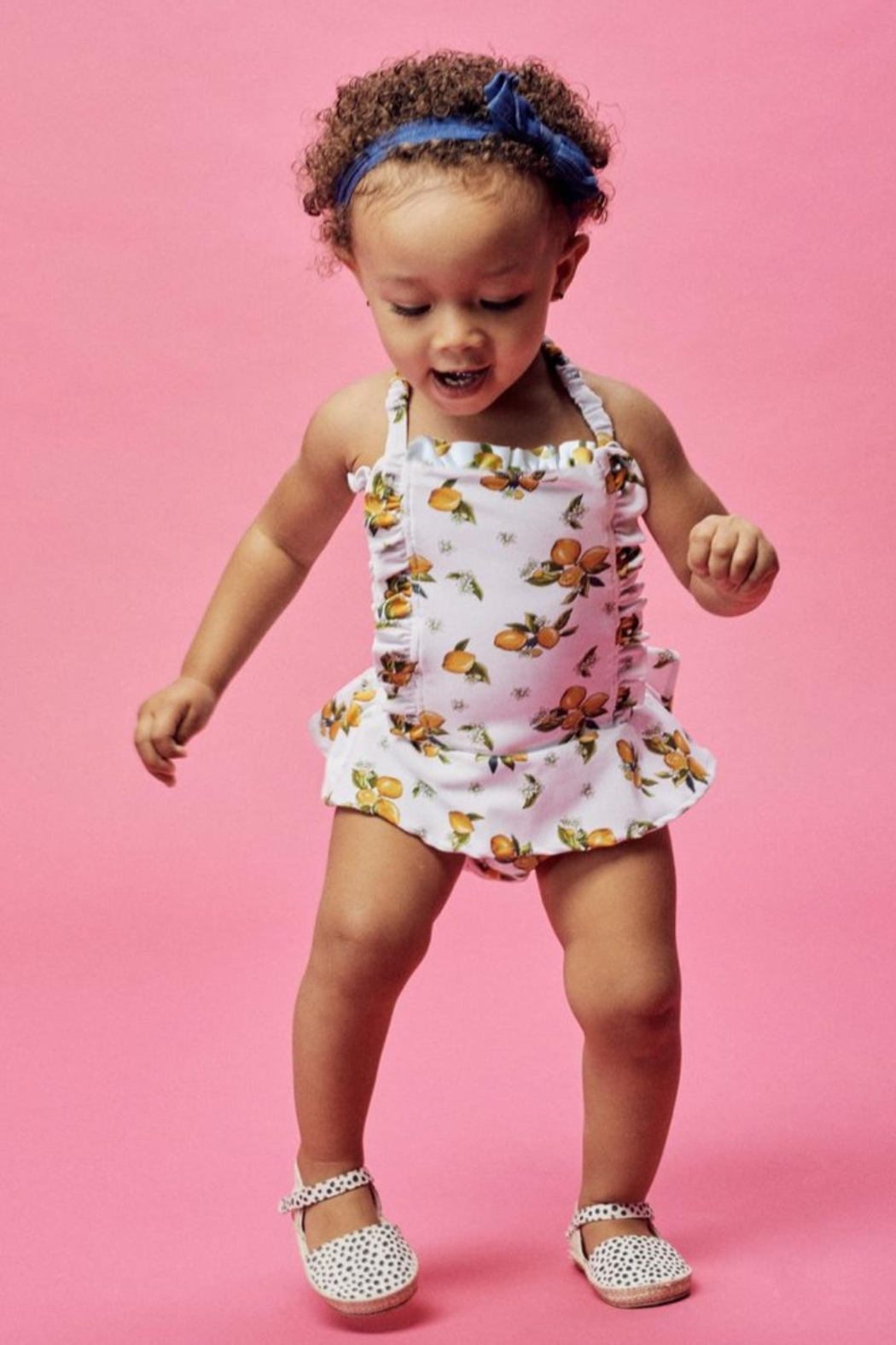 Lil Lemons Sun Kissed Swimsuit - Main Image