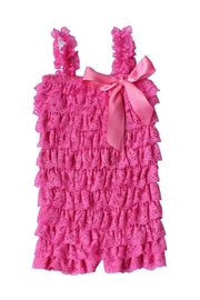 LIL MISS DRESS UP Lace Ruffled Romper - Product Mini Image