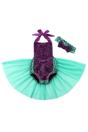 LIL MISS DRESS UP Mermaid Romper Set - Product Mini Image