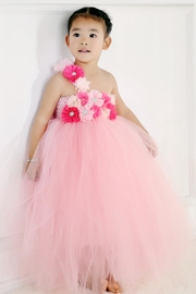 LIL MISS DRESS UP Pink Tutu Dress - Front cropped