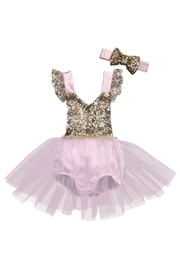 LIL MISS DRESS UP Princess Party Romper Set - Product Mini Image