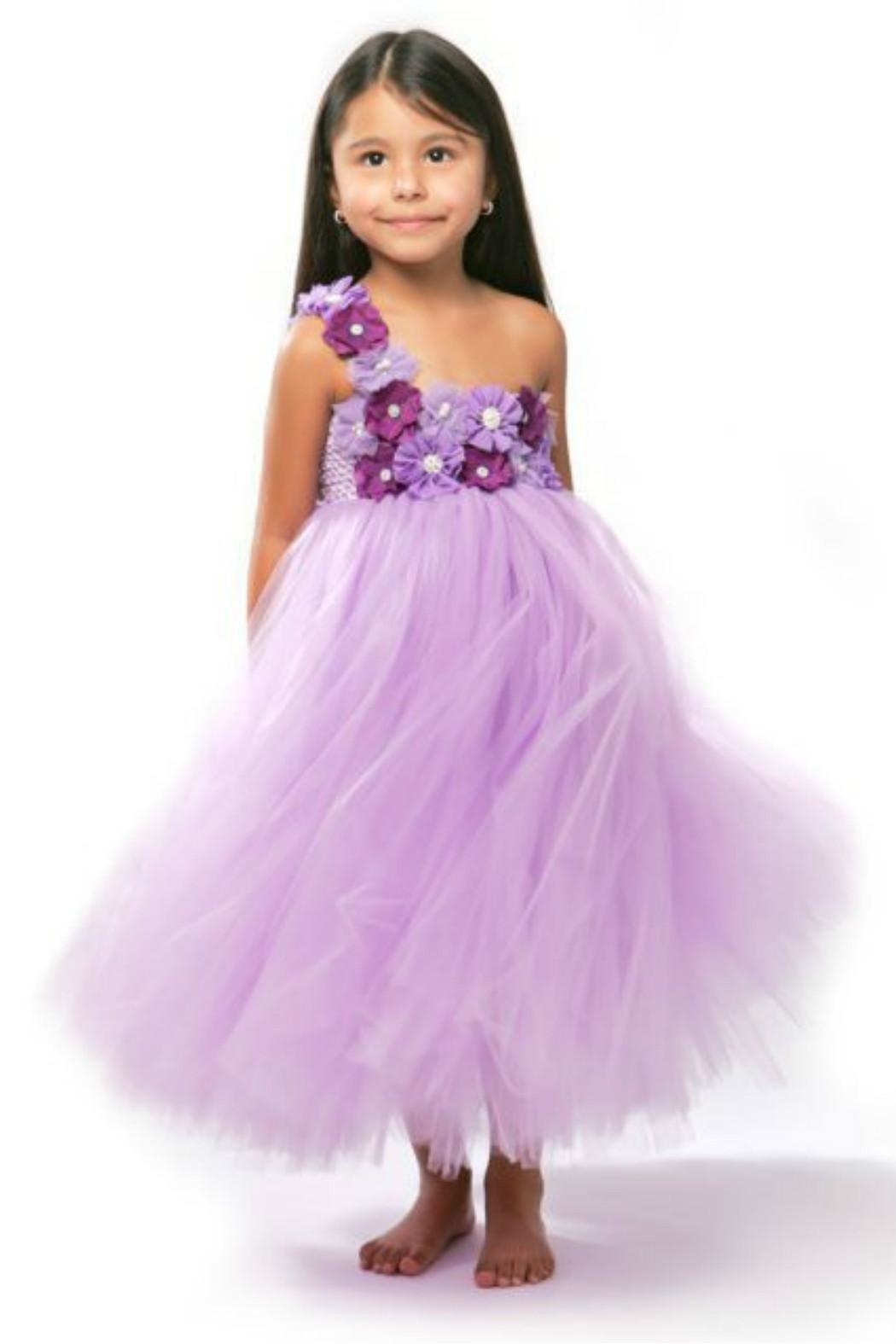 LIL MISS DRESS UP Purple Tutu Dress - Main Image