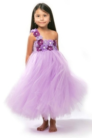 LIL MISS DRESS UP Purple Tutu Dress - Product Mini Image