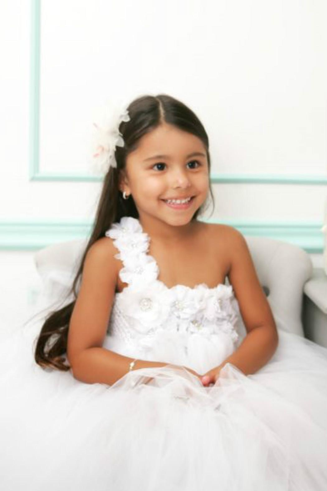 LIL MISS DRESS UP White Tutu Dress - Side Cropped Image