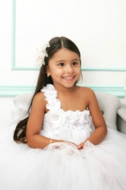 LIL MISS DRESS UP White Tutu Dress - Side cropped