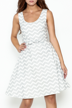 Shoptiques Product: Aubrey Chevron Sundress