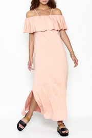 Lila Ila Knit Maxi Dress - Front cropped