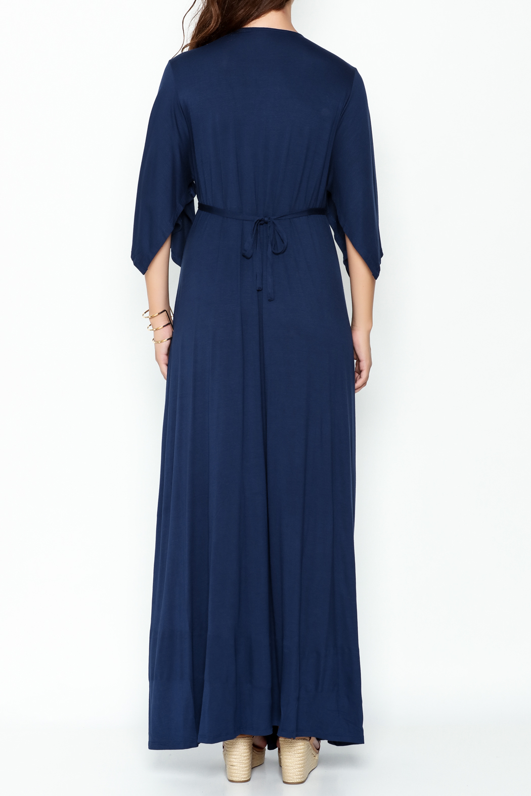 Lila Ila Mackenzie Maxi Dress - Back Cropped Image