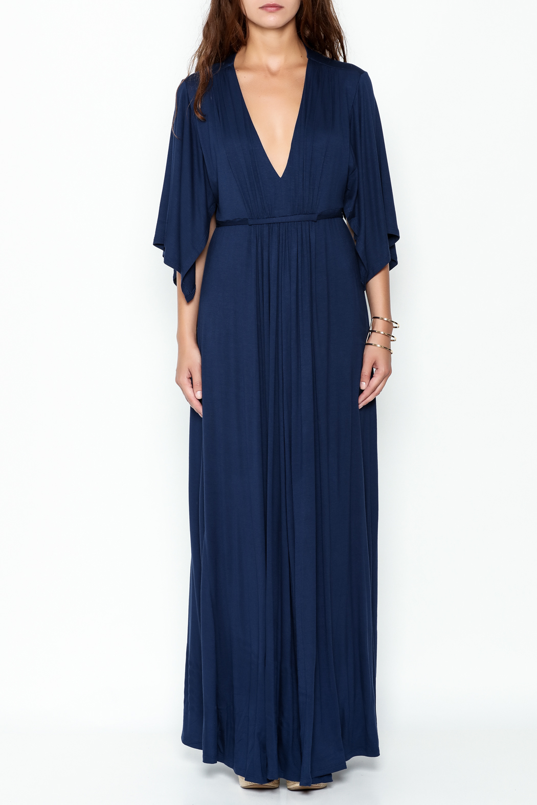 Lila Ila Mackenzie Maxi Dress - Front Full Image