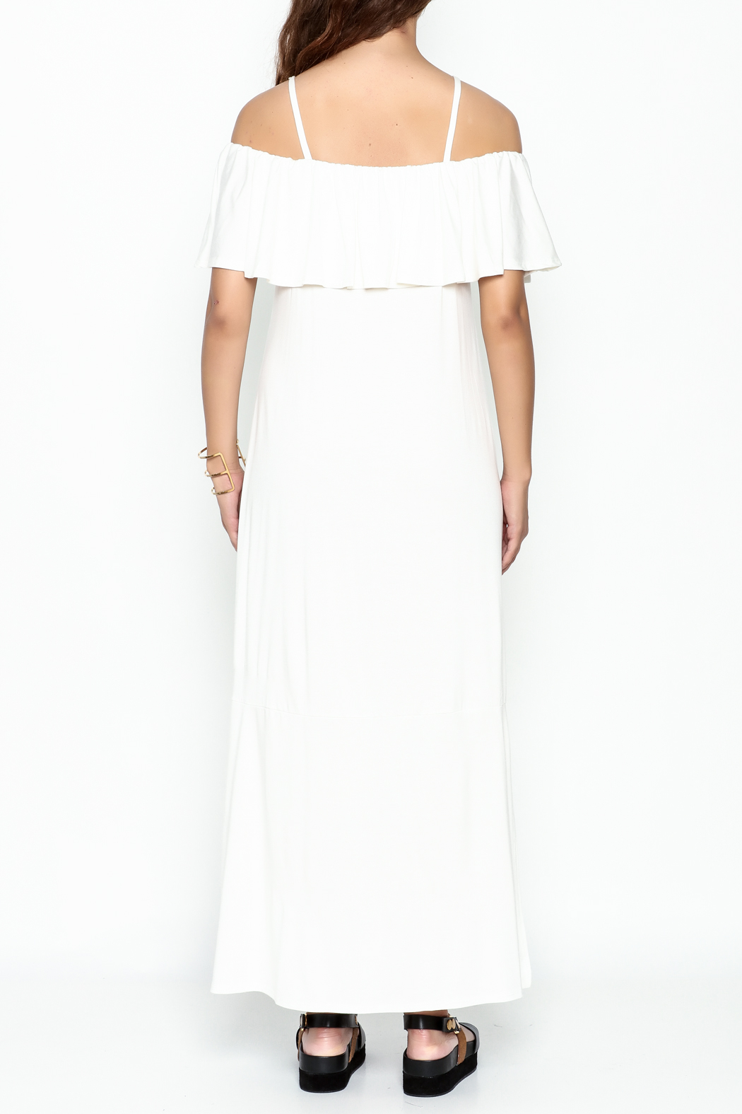 Lila Ila Maisie Maxi Dress - Back Cropped Image