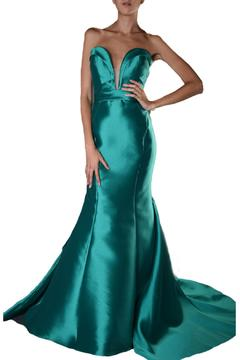 Shoptiques Product: Strapless Mermaid Dress