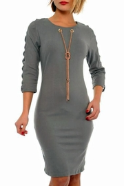 Lila Rose Fitted Dress - Product Mini Image