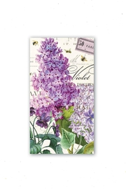 Michel Design Works Lilac-And-Violets Hostess Napkins - Product Mini Image