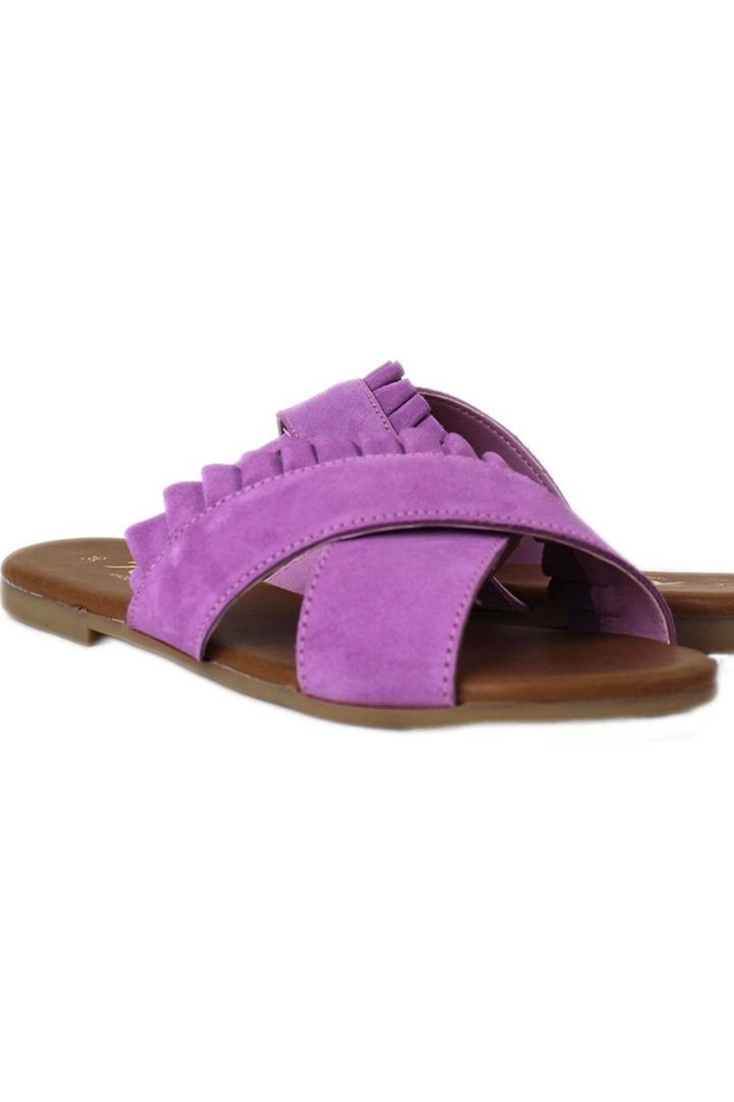 Rebels Lilac Daray Sandal - Front Cropped Image