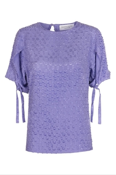 Shoptiques Product: Lilac Elegant Top