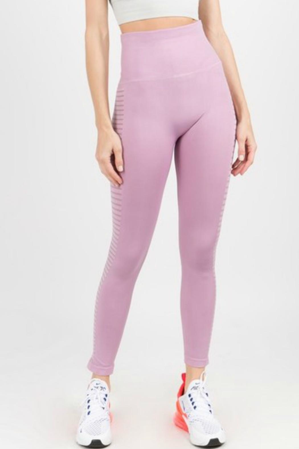 Imagine That Lilac Leggings - Front Full Image