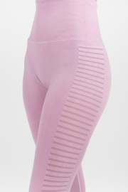 Imagine That Lilac Leggings - Side cropped