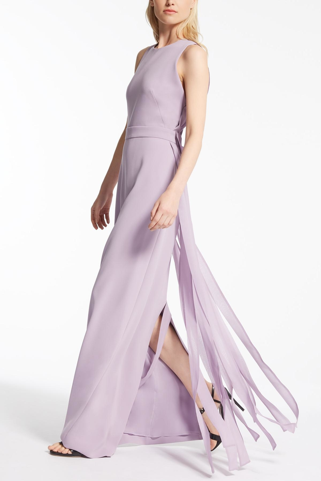 Max Mara Lilac Long Dress - Main Image