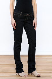 Lilac Maternity Straight Leg Jeans - Product Mini Image