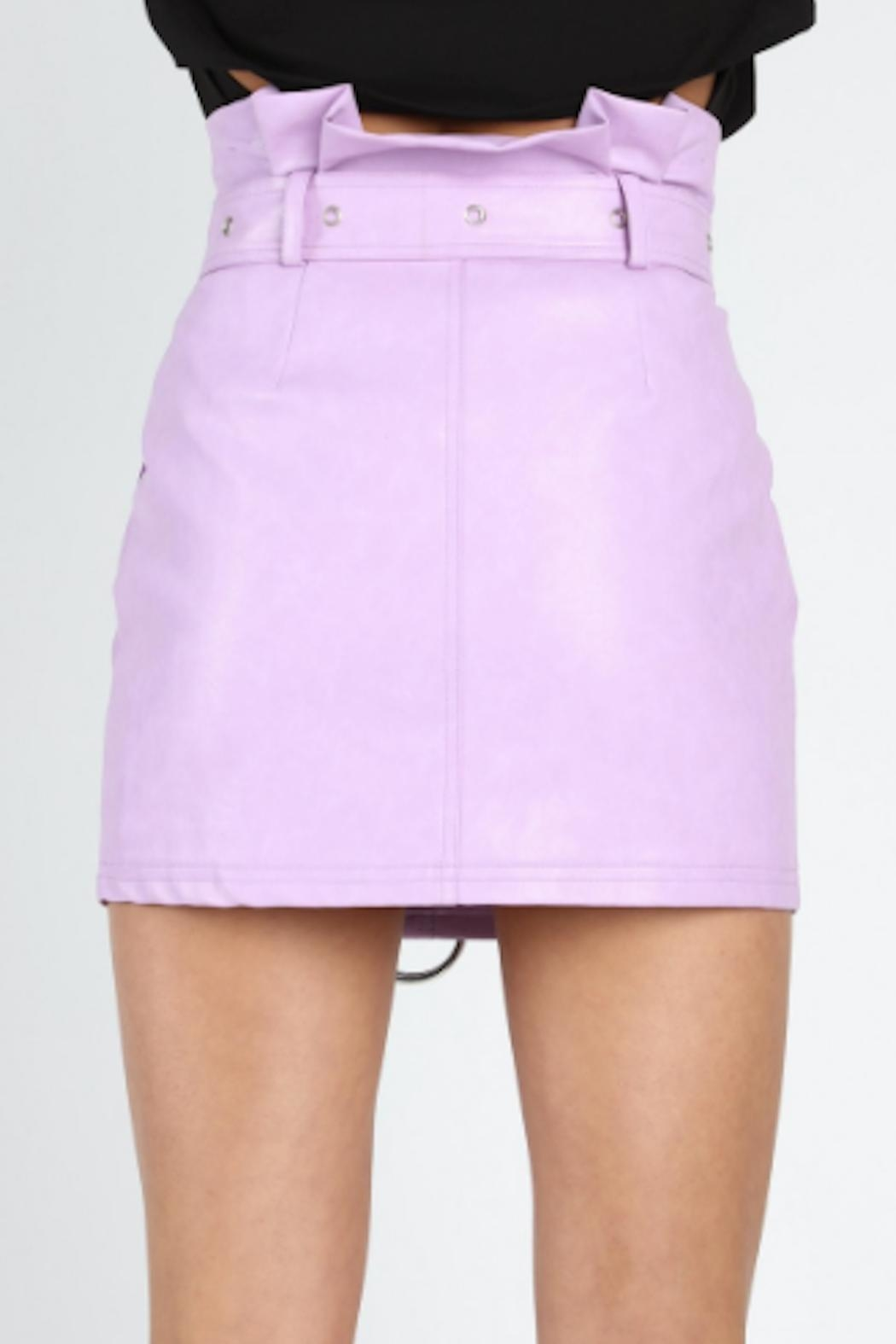 TIMELESS Lilac Skirt - Side Cropped Image