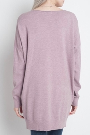 Dreamers Lilac Soft Sweater - Front full body