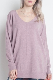 Dreamers Lilac Soft Sweater - Product Mini Image