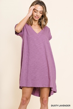 400067a1bc2 ... Umgee USA Lilac T-Shirt Dress - Product List Image