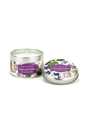 Michel Design Works Lilac/violet Tin Candle - Product Mini Image