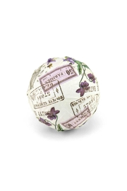 Michel Design Works Lilac/violets Bath Bomb - Front cropped