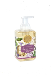 Michel Design Works Lilac&Violets Foaming Soap - Front cropped