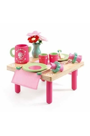 Djeco Lili Rose's Lunch-Set - Front cropped