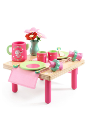 Djeco Lili Rose's Lunch Set - Front cropped