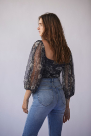 Free People Lilia Top - Front full body