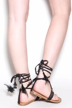 liliana Aries Laceup Sandals - Alternate List Image