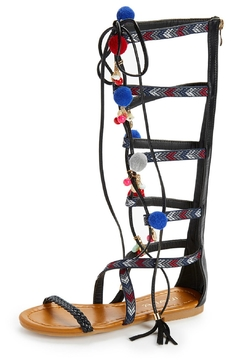 Shoptiques Product: Black Gladiator Sandals