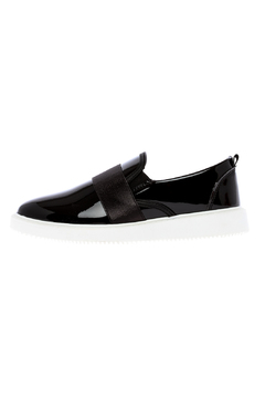 Shoptiques Product: Black Slip-On Sneaker